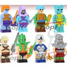 Masters of the Universe Action Figures Set Minifigures Block Bricks Toys Dolls