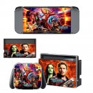 Guardians of the Galaxy Vinyl Nintendo Switch Game System Stickers Set Skin Decals