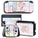 Little Twin Stars Vinyl Nintendo Switch Game System Stickers Set Skins Decals