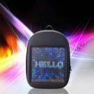 Blue Wifi Smart LED Waterproof Backpack with LED Display Screen Walking Outdoor Advertising