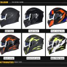 GXT Motorcycle Helmet 6 Style Flip up Modular Double Lens Racing Riding Helmets