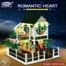 XingBao Xb 01202 Romantic Heart House 1500 pcs Building Blocks Set *FREE Shipping*