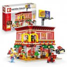 Sembo SD 6901 4 in 1 McDonald with light and USB 1729 pcs Building Blocks Set *FREE Shipping*