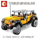 SEMBO 701601 Jeep Wrangler Rubicon 701cs Building Block Set *FREE SHIPPING*