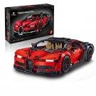 King/Lepin 20086B Bugatti Chiron RED Dream Car (42083) 3599 Pcs Building Block Set *FREE* Shipping