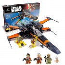 King/Lepin 05004 First Order Poe's X-wing Fighter (75102) 736 Pcs Building Blocks *FREE* Shipping