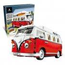 King/Lepin 21001 Volkswagen T1 Camper Van (Retired 10220) 1354 pcs Building Blocks *FREE* Shipping