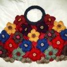 Gorgeous  Handmade Floral Handbag