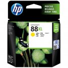 HP 88XL High Yield Ink Cartridge (for Officejet Pro K550/K550dtn/K550dtwn) - Yellow #12254