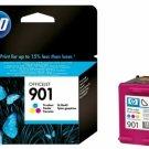 HP 901 Standard Ink Cartridge (for Officejet J4500/4500/J4680) - Tri-color #12275