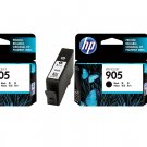 HP 905 Standard Ink Cartridges (Twin Pack) (for OfficeJet Pro 6960/6970) - Black #12538