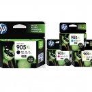 HP 905XL 4-Color BK/C/M/Y Ink Cartridges (for OfficeJet Pro 6960/6970) - Assorted #12536