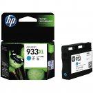 HP 933XL High Yield Ink Cartridge (for Officejet 6100/6600/6700) - Cyan #12297