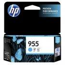 HP 955 Standard Ink Cartridge (for OfficeJet Pro 8720/8730/8740) - Cyan #12301