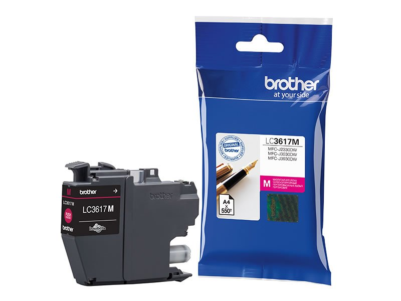 Brother LC3617 Standard Ink Cartridge (for J2730DW/3530DW/3930DW) - Magenta #12334