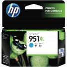 HP 951XL High Yield Ink Cartridge (for Officejet Pro 8100/8600) - Cyan #12292