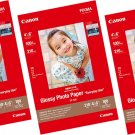 Canon PIXMA GP-508 4R Glossy Photo Paper (100 Sheets Each, Pack of 3) #15570