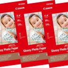 Canon PIXMA GP-508 4R Glossy Photo Paper (20 Sheets Each, Pack of 5) #15571