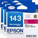 Epson 143 Extra High Capacity Ink Cartridge (Pack of 3) - Magenta Ink #15494
