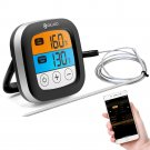 LED Touch Screen Digital Bluetooth Cooking Meat Thermometer with Stainless Steel