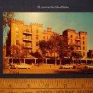 Postcard 1950s Hotel Evans Hot Springs South Dakota Vintage Cars Street View