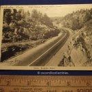 1946 King's Highway Muskoka Ontario Canada Adams Muskoka Views RPPC Vintage Car