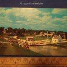 Postcard 1960s Waiting To Ride Le Bateau Marguerite Morrisburg Ontario Canada