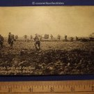Postcard 1940s English Tanks American Infantry In Action France War Postal Card