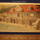 Postcard 1930s Upper Hot Springs Swimming Pool And Bath House Banff Natl Park