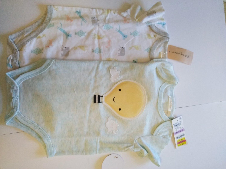 2 Piece Set First Impression Newborn Bodysuit 1-8 LBS