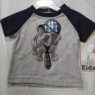 Kids Headquarter Girl's Embroidered Multi Color Tee Shirt  Size - 3-6 Months