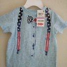 First Impression Baby's  Blue Pond Short Sleeve Tee Shirt - 6-9 Months