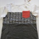 First Impression Baby's Multi Color Short Sleeve T- Shirt - Sizes - 6-9 / 12 / 24 Months