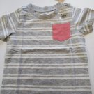 First Impression Baby's Stripped Short Sleeve Tee Shirt Sizes - 18  / 24 Months