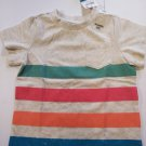 First Impression Baby's Print Short Sleeve Tee Shirts Size - 6