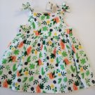 First Impression Baby Girl's Sleeveless Flower Dress - 6-9 Months