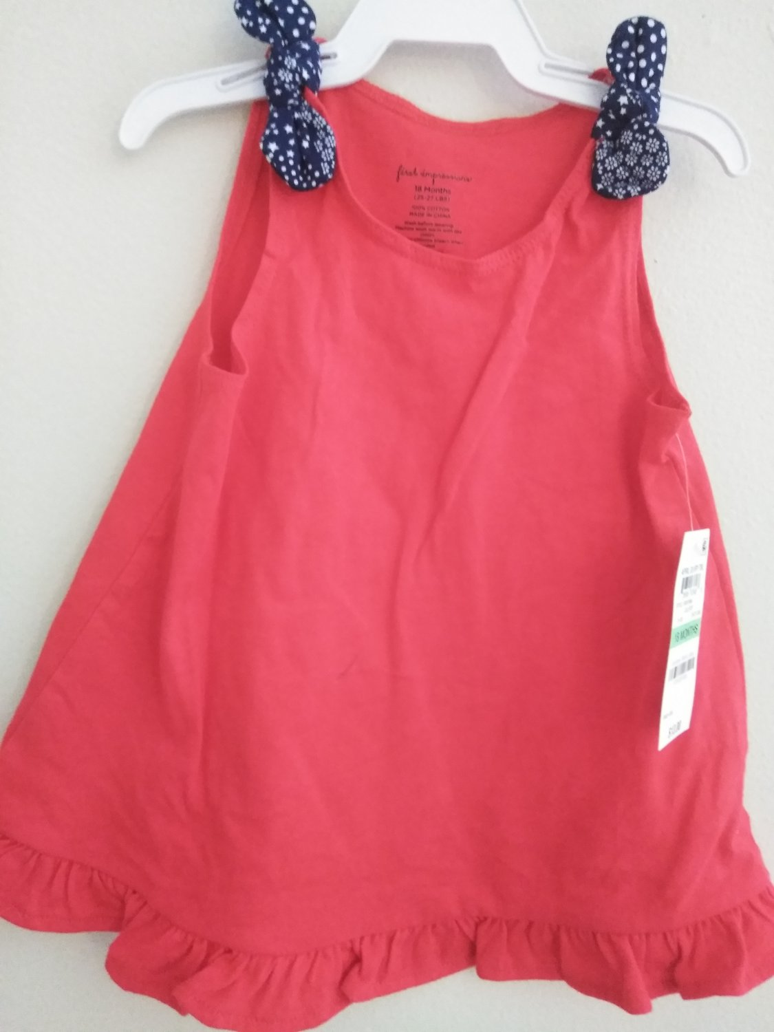 First Impression Baby Girl's Lollipop Dress -18 M