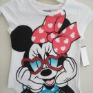 Disney Minnie Mouse Baby's White Sleeveless Tee Shirt - Size 5