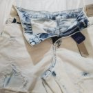CALVIN KLEIN GIRL'S FADED STRETCH JEANS SHORT - SIZE 16