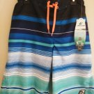 LAGUNA BOY'S STRIPE UPF 50 ENDLESS SUMMER SWIM TRUNK - L/XL