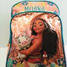 "DISNEY 16"" CHILDREN'S MOANA  BLUE BACKPACK"