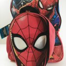 "MERVEL  SPIDERMAN 16"" KID'S  BLUE  BACKPACK"