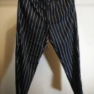 ARMANI EXCHANGE WOMEN'S BLACK STRIPED DRAWSTRING PANT SIZE 6