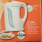 Hamilton Beach Proctor Silex Durable One Liter Electric Kettle