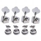 1Set Bass Guitar 4R Machine Heads Knobs Tuners Tuning Pegs