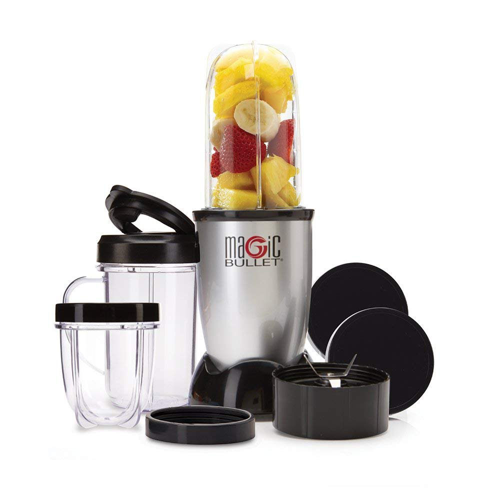 Magic Bullet Blender, Mixer & Food Processor, 11 piece set