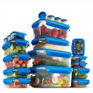 40-Piece Airtight Food Storage Containers Set With Lids  Plastic Food Containers Set