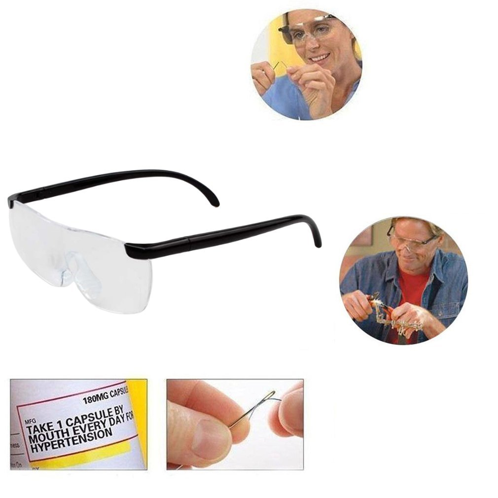 1.6X Magnifying Reading Glasses Flameless LigHtweight Eyewear Magnifier 250 Degree Vision Care Lens