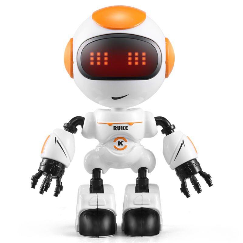 JJRC R8 RUKE / R9 Ruby Touch Control DIY Gesture Mini Robot Orange