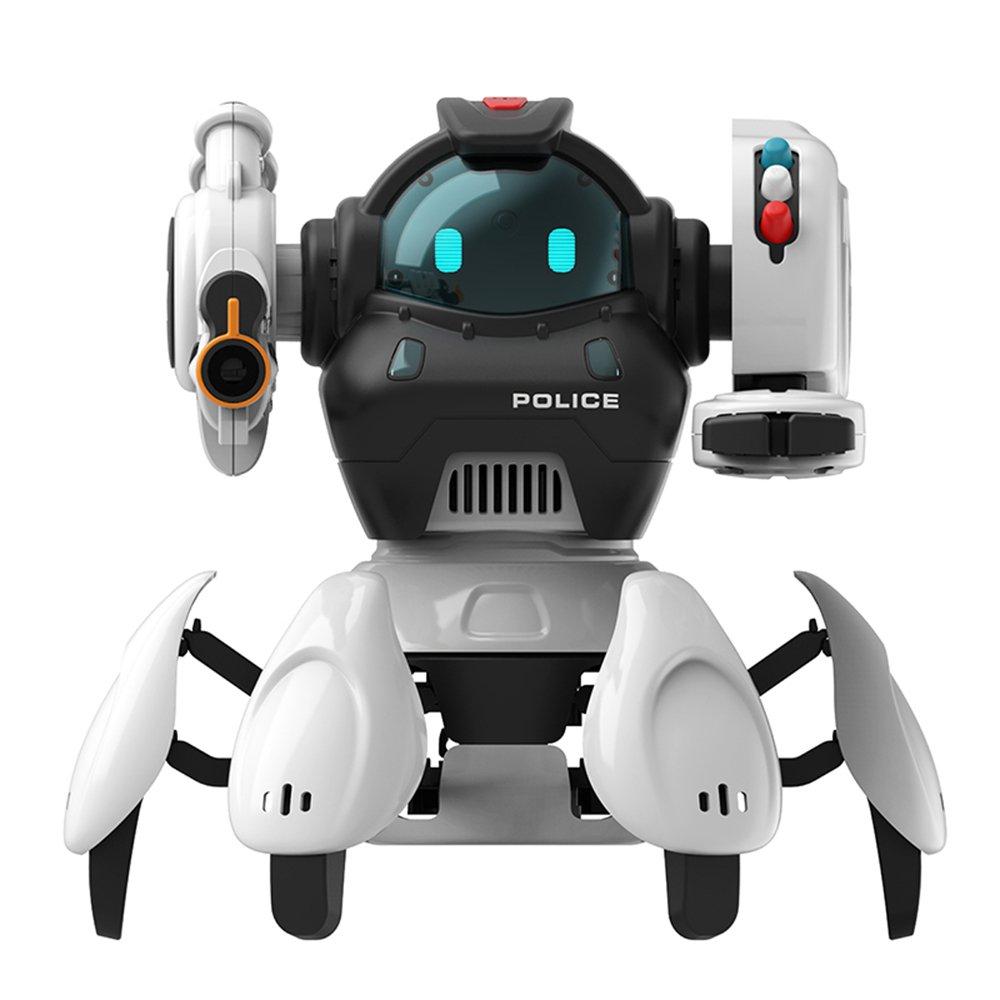SBK50001 2.4G 6-Legs Smart RC Robot 5 Modes 3 Systems Robot